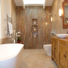 contemporary bathroom by OBERHAUSER INTERIORS