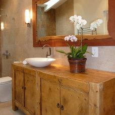Contemporary Bathroom by OBERHAUSER INTERIORS