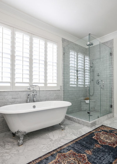 Lovely Traditional Bathroom by Sarah Stacey Interior Design