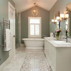 Traditional Bathroom by Sheri P. Interior Design