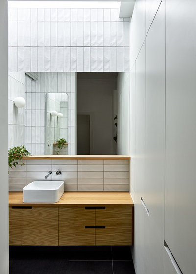 Contemporary Bathroom by Drawing Room Architecture