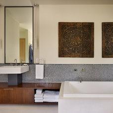 Modern Bathroom by DeForest Architects
