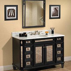 Traditional Bathroom Vanities And Sink Consoles by Westheimer Plumbing & Hardware