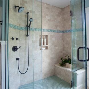 Bathroom - beach style bathroom idea in Providence