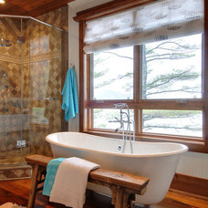 Rustic Bathroom by Urban Rustic Living
