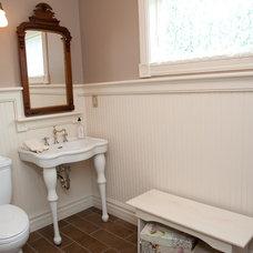 Traditional Bathroom by Cuomo Construction, Inc