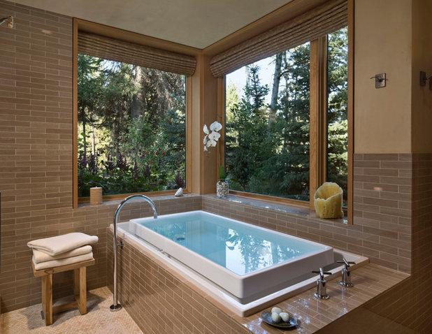 Rustic Bathroom by EK Reedy Interiors, Inc.