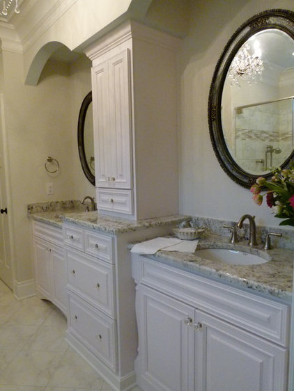 Traditional Bathroom by Twin City Custom Cabinets