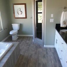 Traditional Bathroom by Coastal Interiors