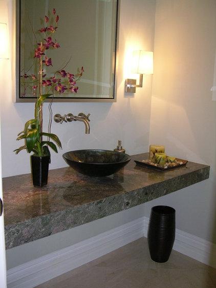 Contemporary Bathroom by Anisa Interiors