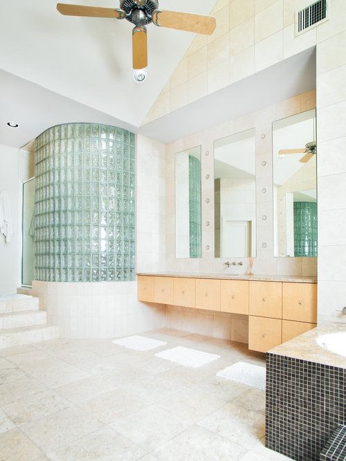 Best glass block shower design ideas remodel pictures for Glass block alternatives