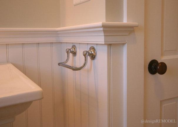 Traditional Bathroom by @designREMODEL Baths, Kitchens & More