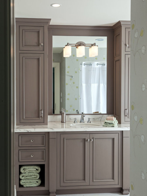 Wonderful Master Bathroom For Tall Cabinet Next To Tub Like The Tall On Top