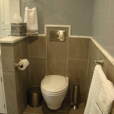 Traditional Bathroom by Robin Amorello, CKD CAPS - Atmoscaper Design