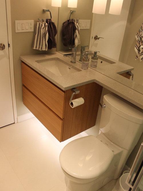 Bathroom and cloakroom design ideas renovations photos for 2 piece bathroom ideas