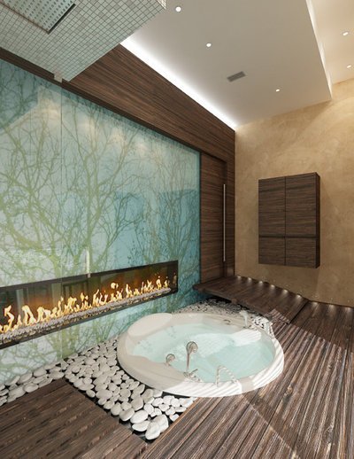Contemporary Bathroom by Uta Nagel Interior Design