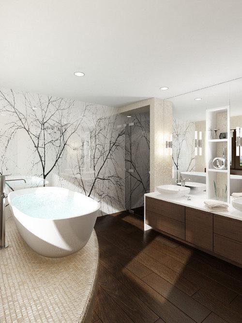 Wall Designs For Bathroom : Bathroom wall design houzz