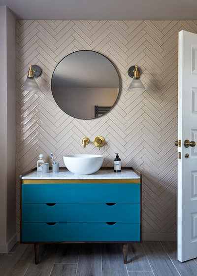 Contemporary Bathroom by FIONA DUKE INTERIORS