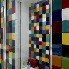 Contemporary Bathroom by Brennan + Company Architects