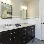 Vintage apothecary bathroom - Craftsman - Bathroom - New York - by Tracey Stephens Interior ...