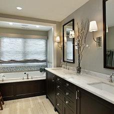 Contemporary Bathroom by Lisa Wolfe Design, Ltd