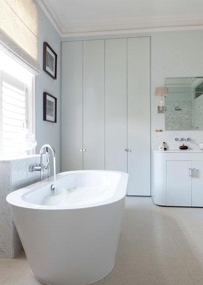 Contemporary Bathroom by Fiona Andrews Interiors