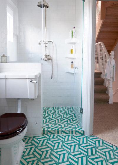 Transitional Bathroom by VORBILD Architecture