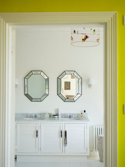 Eclectic Bathroom by Anna Standish Interiors