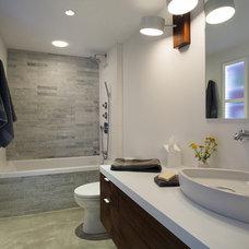 Contemporary Bathroom by ZeroEnergy Design