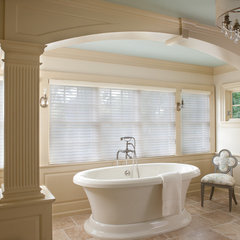 mediterranean bathroom by CBI Design Professionals, Inc.