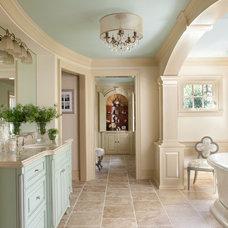 Mediterranean Bathroom by CBI Design Professionals, Inc.