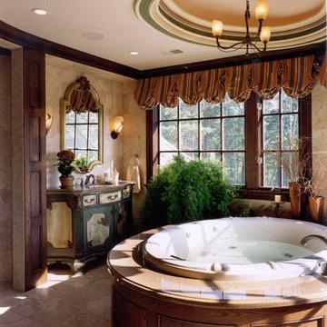 Family Residence, Custom Home, Master Bathroom