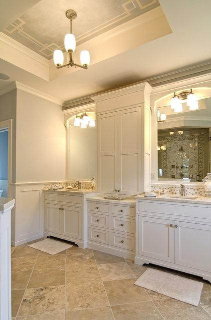 Traditional Bathroom by Farinelli Construction Inc