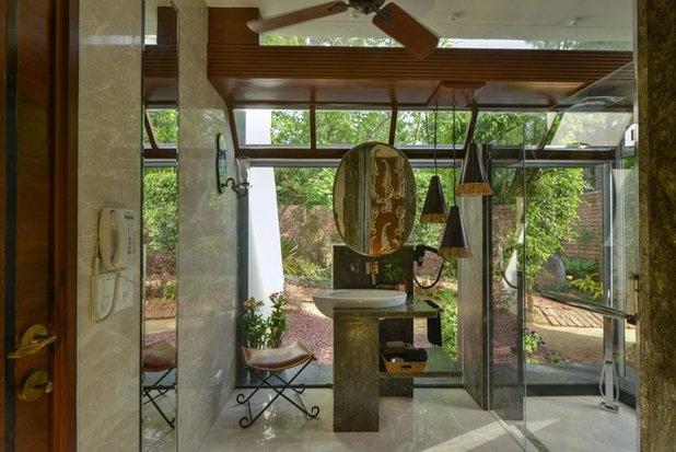Contemporary Bathroom by Monica Khanna Designs