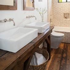 Farmhouse Bathroom by Bashford & Dale Interior Design