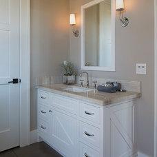 Farmhouse Bathroom by Artistic Designs for Living, Tineke Triggs