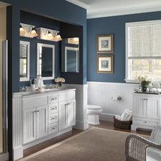 Farmhouse Bathroom by Designhouse Kitchen and Bath, LLC