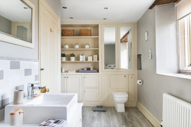 Transitional Bathroom by Frome Interiors