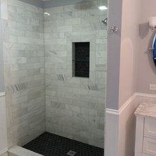Farmhouse Bathroom by G2 Design Group