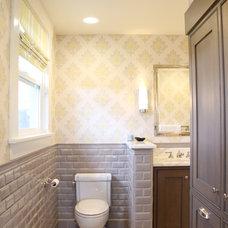 Farmhouse Bathroom by K&L Interiors