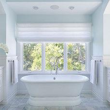 Farmhouse Bathroom by Lewis Giannoulias (LG Interiors)