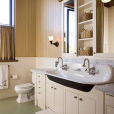 Rustic Bathroom by NICOLEHOLLIS