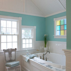 Farmhouse Bathroom by Smart Design