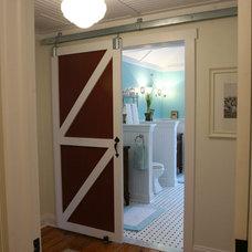 Farmhouse Bathroom by Smart Design