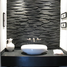 contemporary bathroom by Candent Design