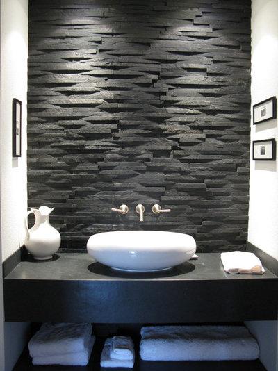 De la pierre naturelle dans la salle de bains bonne ou for Pierre naturelle pour salle de bain