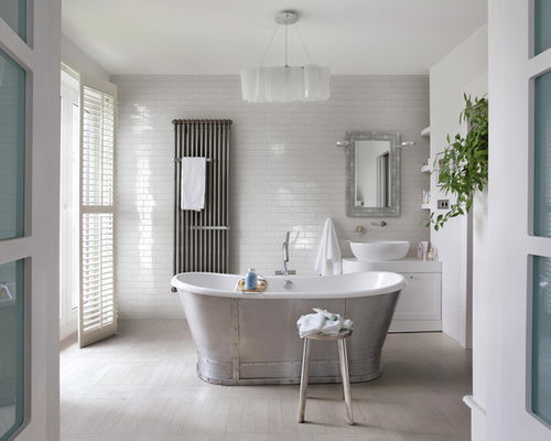 bathroom white subway tile ideas, pictures, remodel and decor, Bathroom decor