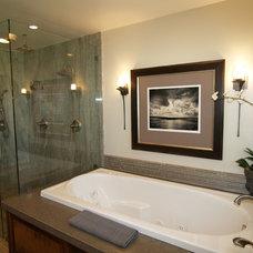 Traditional Bathroom by Wendy Kristina Glaister Design