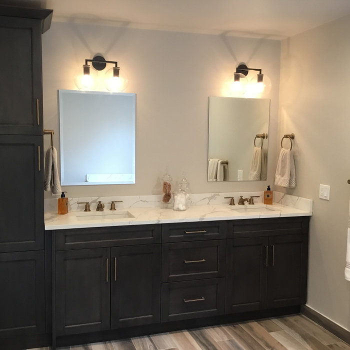 Farmhouse modern Master Bathroom