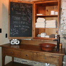 Farmhouse Bathroom by Peters Cabinetry